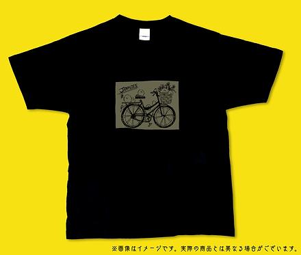自転車ジューニーTシャツ
