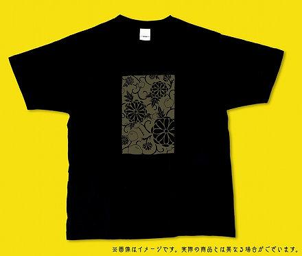 菊とジューニーTシャツ