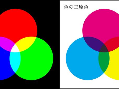 カラーモードのはなし(RGBとCMYK)