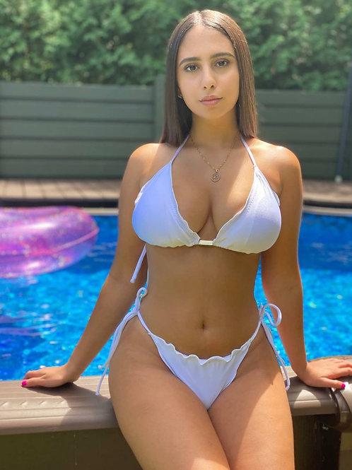 Lenny's White Levanata BumBum Bikini