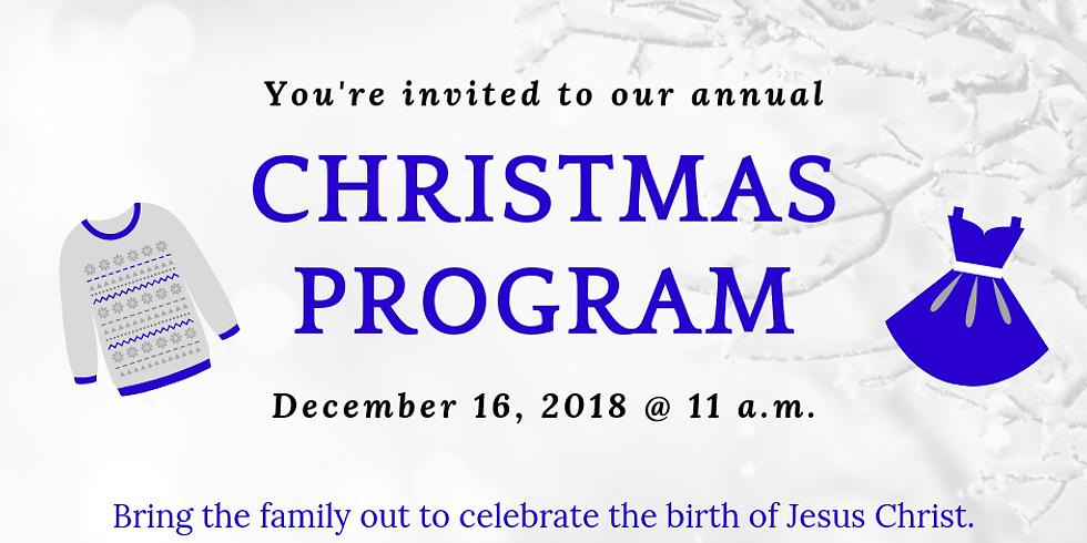 Annual Special Christmas Program
