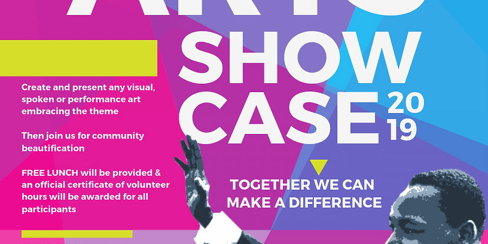 MLK Day Creative Arts Youth Showcase and Beautification Event