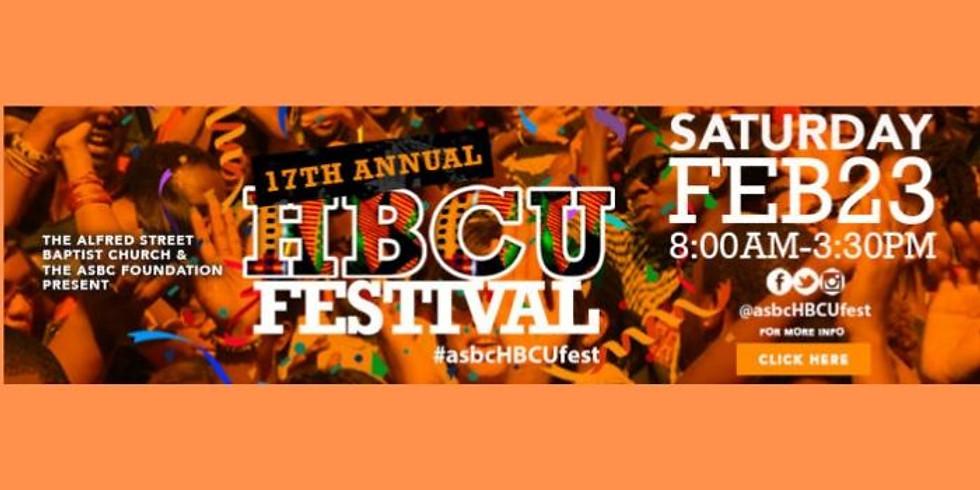 17th Annual ASBC HBCU College Festival