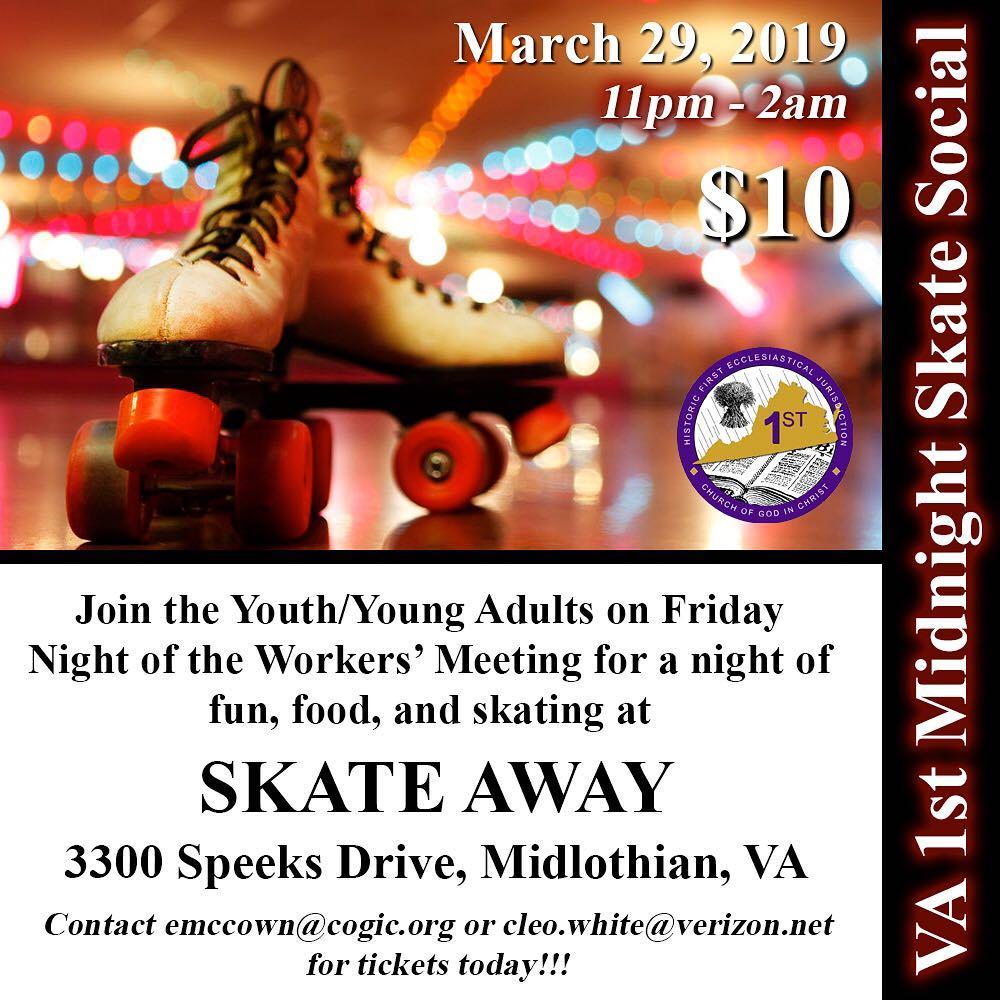Midnight Skate Away