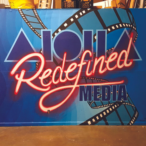 Aloha Redefinded Mural