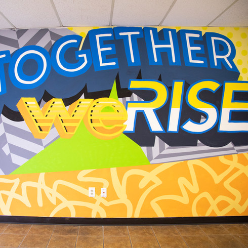 Together We Rise Mural