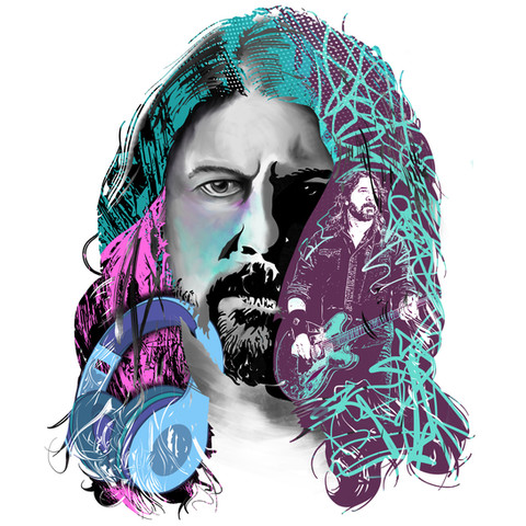 Textures and Portraits- Grohl