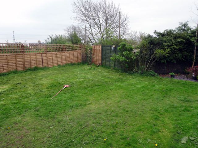 Lawn Garden, boring garden