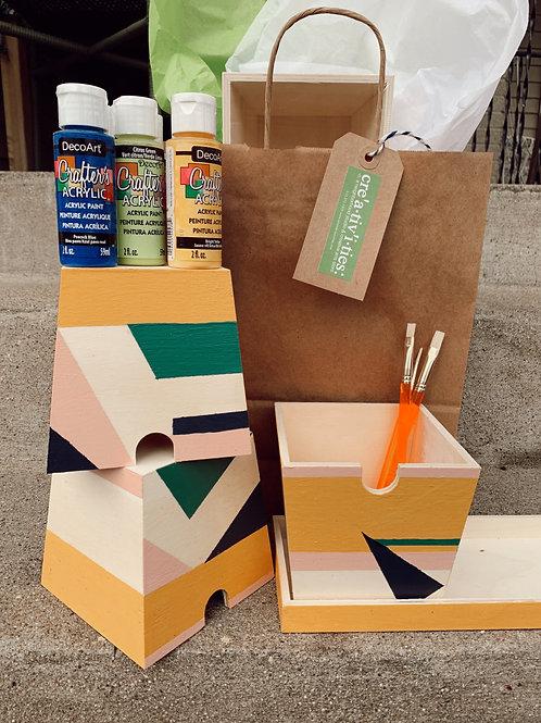 Wood/Paper/Paint Kits