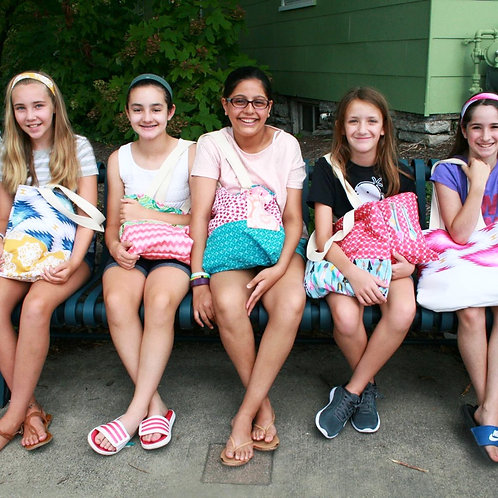Beginner Sewing Camps '21: PM Ages 10-12, 12+