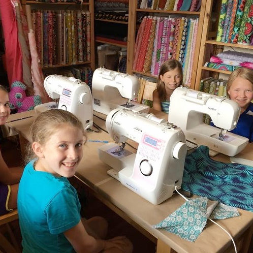 THURSDAY ages 7+ AMGD Sewing Class Sessions A & B (4:15-5:45)