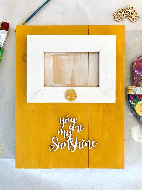 Wood Palette Frame Kit
