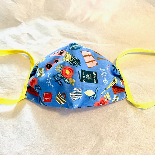 DIY Face Mask Kit w/ Ties (makes 4)