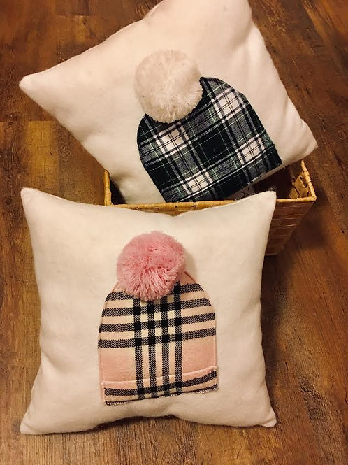 Snow Hat Pillow Workshop 8+ (sewing 101 for new sewers +$20)