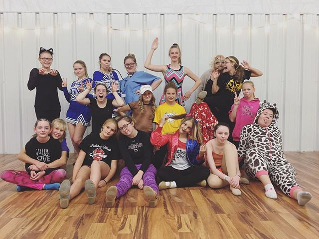 #VDC #costumeweek #danceclassfun #missingafewfriends #crazykids