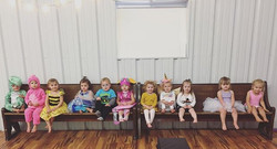 Too much cuteness! #costumeweek #tumbletots #VDC #adorbs