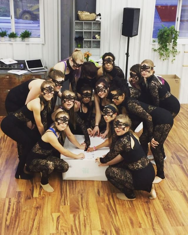_Dance costume week is just as fun as opening Christmas presents!_ #makingmemories  #VDC #villadance