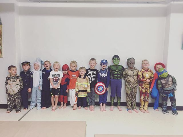 #VDC #tumblingfun #boysrule #costumeweek #halloween #missingafewfriends
