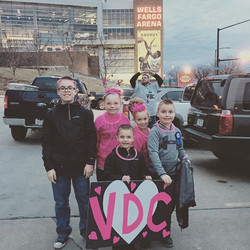 Goooo VDC! _iowawild #pinkintherink