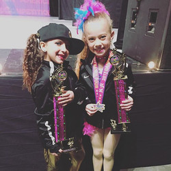 Layla is bringing home Top First, 1st high score in the hip-hop category! Nelley an Elite Top First,
