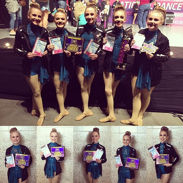 Congratulations to these 5 pretty ladies! They received a Top First trophy,  2nd place within their