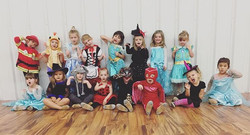 #VDC #costumeweek #lookatthesecuties #danceclassfun #villafamily