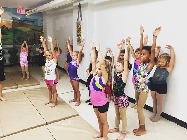 Learning new Acro technique at our Audubon location! #VDC #villadancecompany #tumblinglife #ephesian