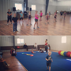 Our first official classes in our new home! #movedin #villadancecompany #vdc #tumbletots #hiphop