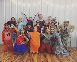 #VDC #costumeweek #spooks #danceclassfun