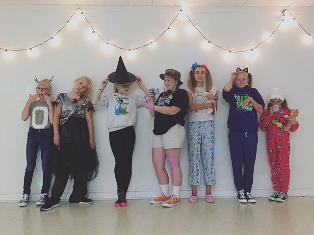 #VDC #costumeweek #danceclassfun #missingafewfriends