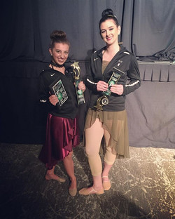 Kyja received high gold with her solo _Body Love_! Marah received Lightening Gold and second place o