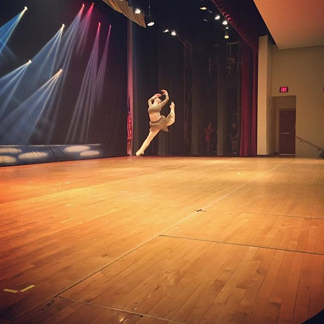 Senior Dancer_ Kyja _Highlights from Friday's rehearsal 📸 #MoveRecital2017 #villadancecompany #vdc