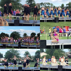 #dancersagainstcancer #casscountyrelayforlife #villadancecompany #vdc