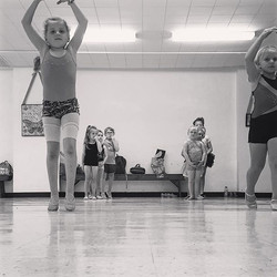 Starting with the basics! #relevé #vdc #villadancecompany #ballet #tinydancers