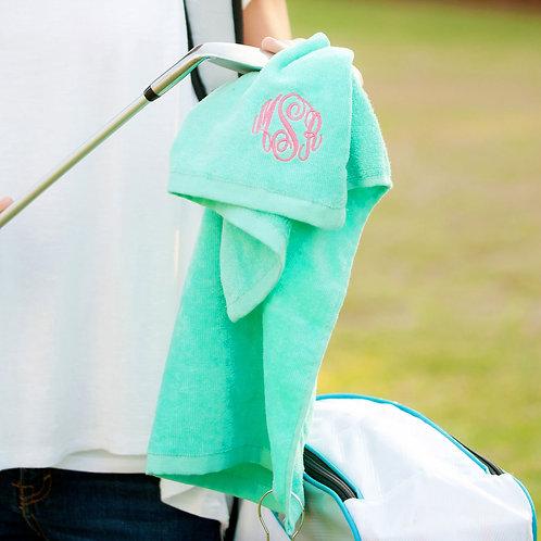 Mint Golf Towel