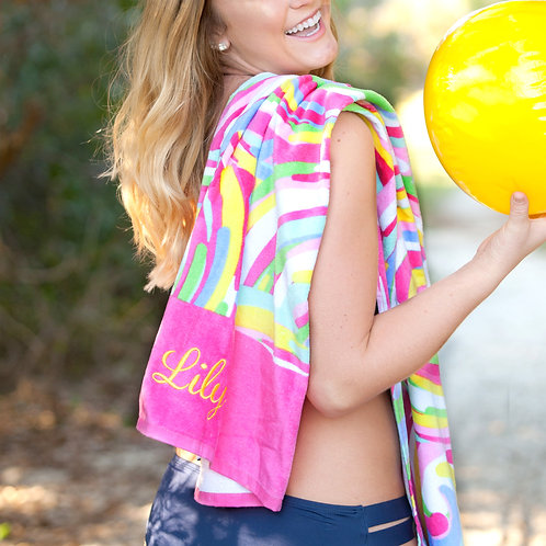 Summer Sorbet Beach Towel