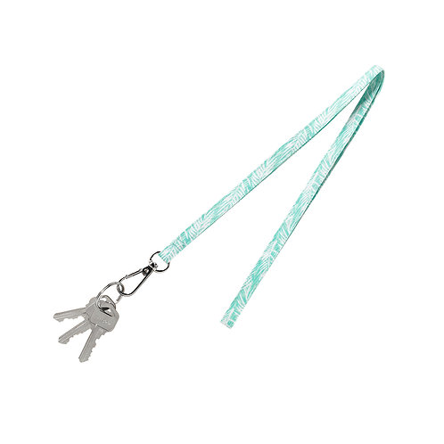 Poolside Palm Lanyard