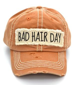 Tan Bad Hair Day Cap