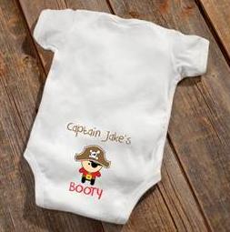 Pirate Baby Booty Bodysuit