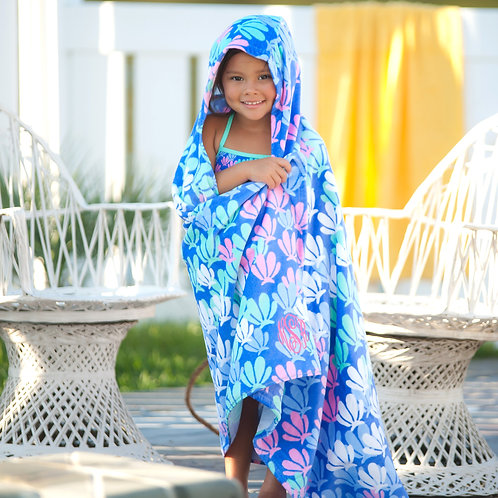 Mer-Mazing Kids' Hooded Towel