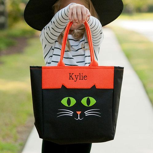Cat Halloween Tote