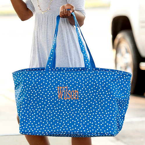 Royal Dot Ultimate Tote