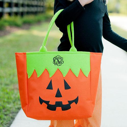 Pumpkin Halloween Tote