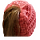 Thumbnail: C.C. Beanie New Candy Pink Messy Bun Kids