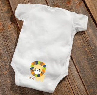 Lion Baby Booty Bodysuit