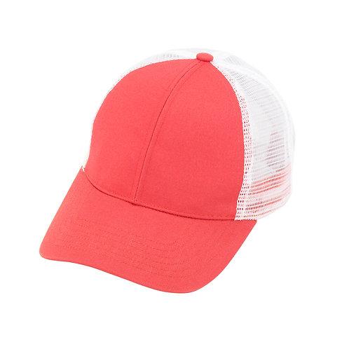 Coral Trucker Cap