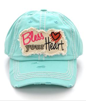 Mint Bless Your Heart Cap