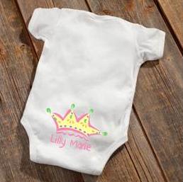 Princess Baby Booty Bodysuit