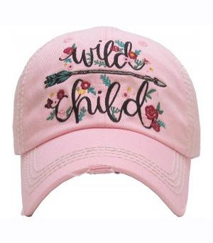 Pink Wild Child Cap