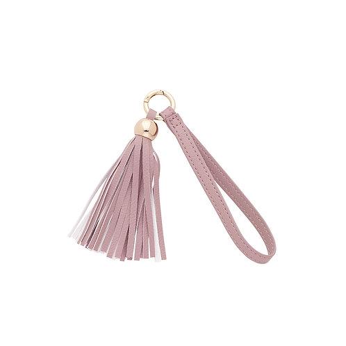 Blush Tassel Keychain